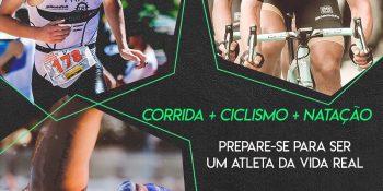 Prepare-se para ser um atleta na vida real | Corrida + Ciclismo + Natação
